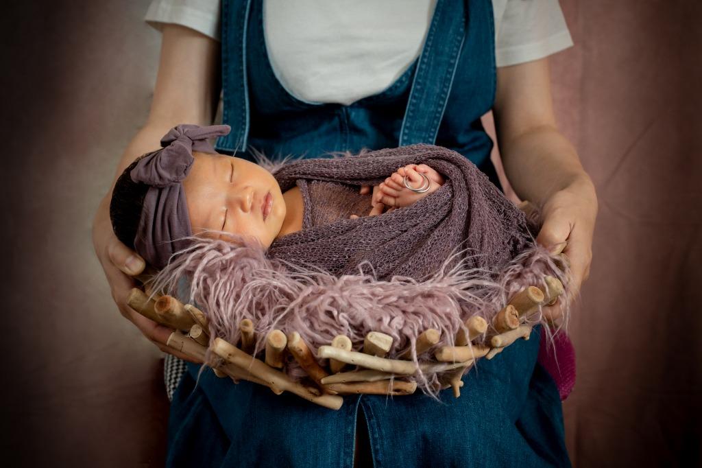 新生児撮影写真